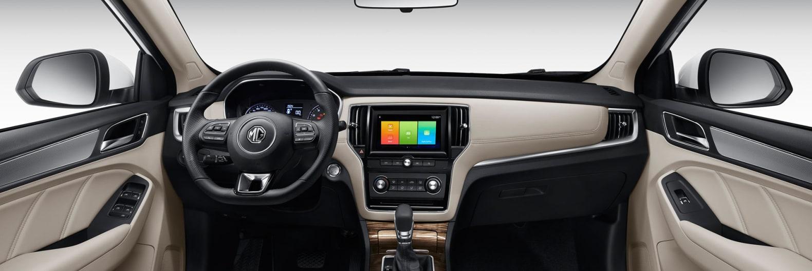 MG RX5 Dashboard