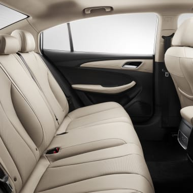 MG5 Beige Interior Rear Seats