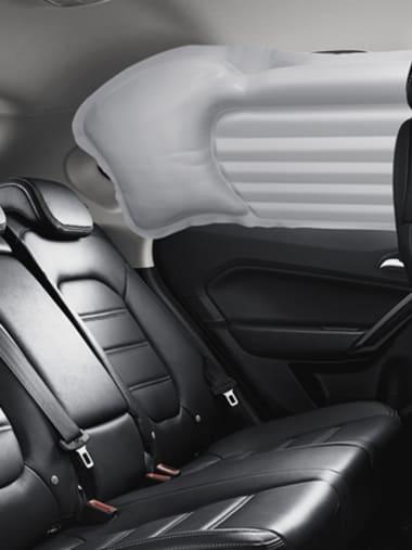 MG ZS Rear Seat