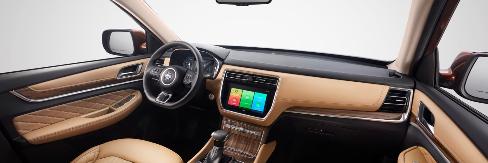 MG RX8 Interactive Technology