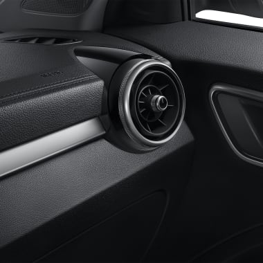 MG ZS Air Conditioner Outlet Black