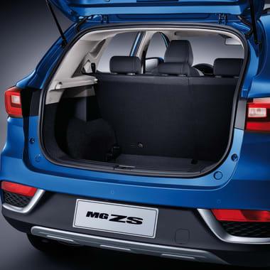 MG ZS Blue Boot