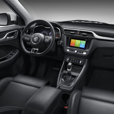 MG ZS Front Row Side Interior Black