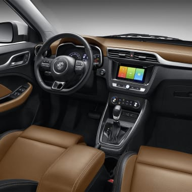MG ZS Front Row Side Interior Brown